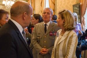Du 15 au 18 mai, dans les salons du Gouverneur Militaire de Paris aux Invalides, s'est tenue une exposition au profit des blessés en opérations et des familles des soldats morts au combats.